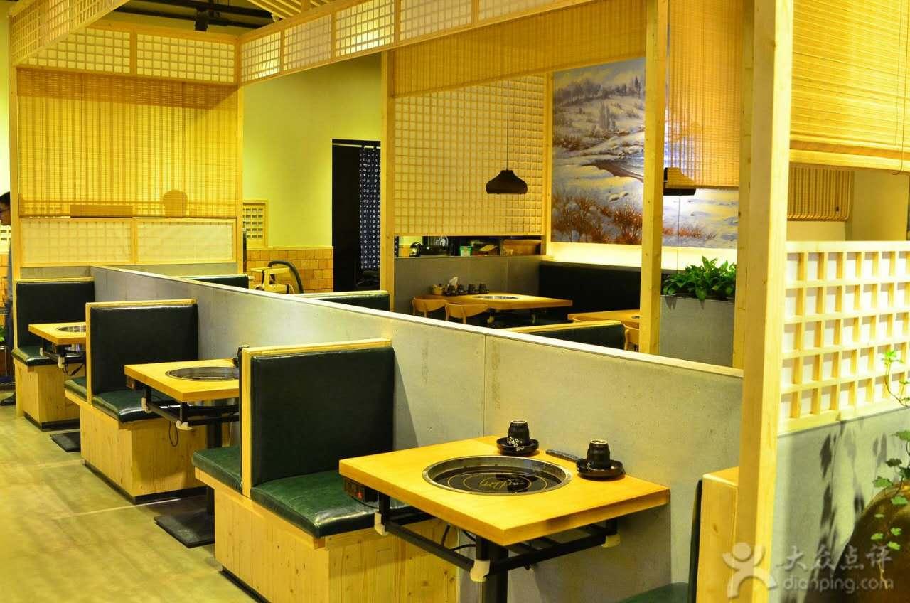 广东惠州春川铁板鸡韩国料理门店设计图